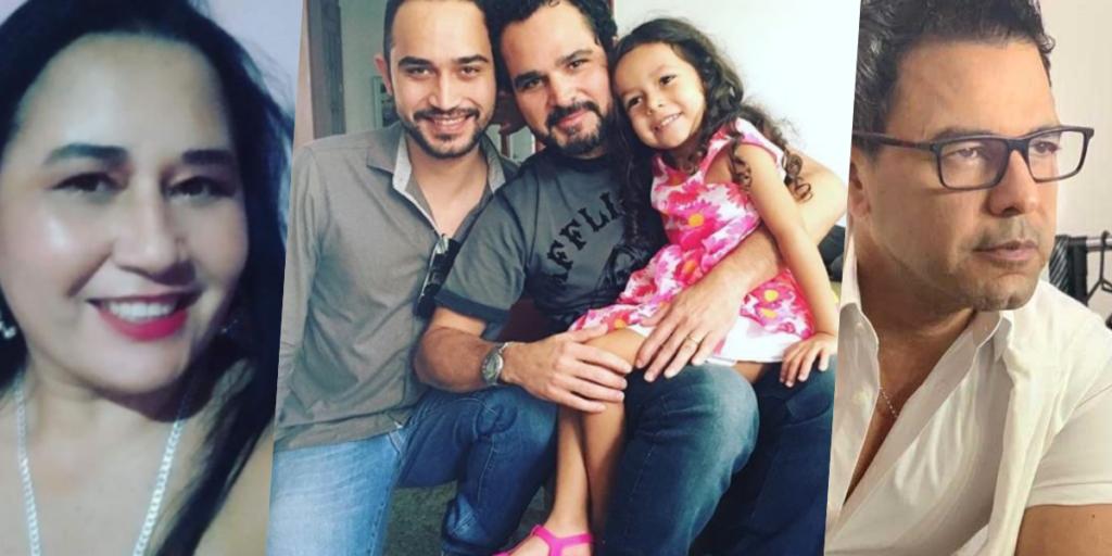 Cleo Loyola, é mãe de Wesley Camargo, filho renegado de Luciano Camargo (Foto montagem)