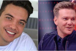 Os cantores Wesley Safadão e Michel Teló (Reprodução)