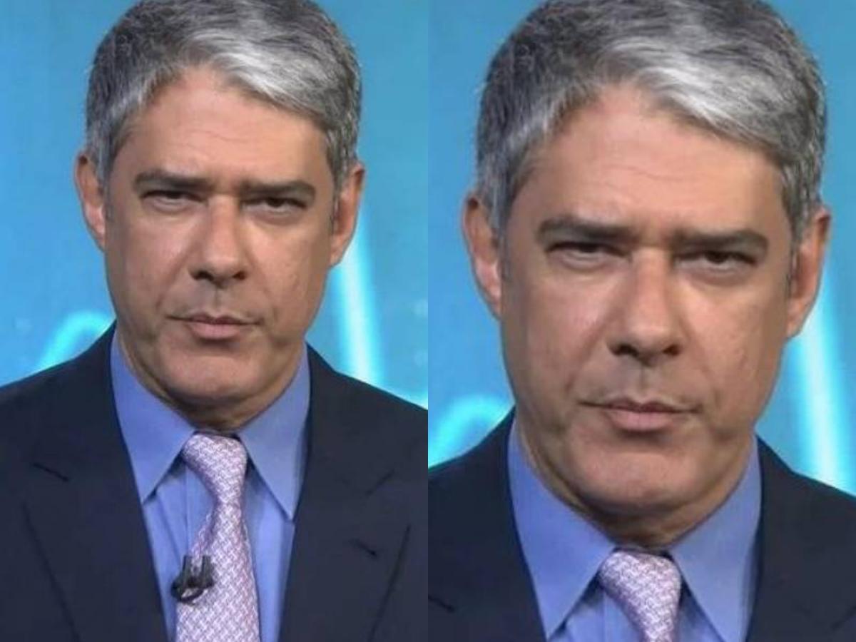 O famoso âncora e apresentadora do Jornal Nacional da Globo, William Bonner (Foto: Reprodução)
