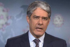 O jornalista William Bonner teve vídeo vazado nas redes - Foto: Reprodução