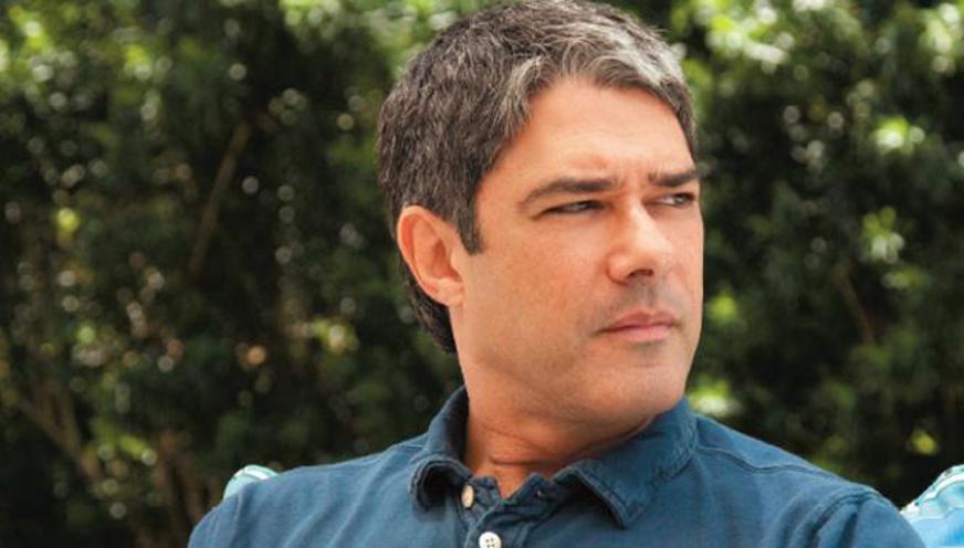 William Bonner levou bronca da Globo (Foto: Reprodução)
