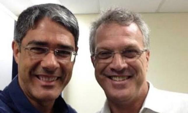 William Bonner foi entrevistado por Pedro Bial (Foto: Reprodução)