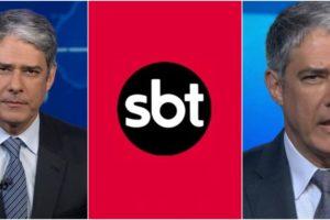 O fato relatado por William Bonner envolvendo seu filho virou assunto no SBT