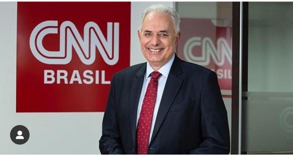 William Waack apresenta Jornal da CNN