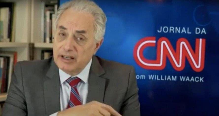 William Waack foi convocado pela CNN Brasil para falar sobre racismo e gerou revolta (Foto: Reprodução)