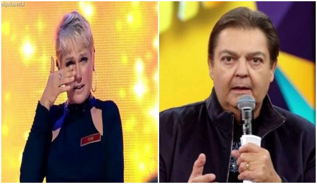 Xuxa teve participação tímida no Faustão - Foto: Reprodução