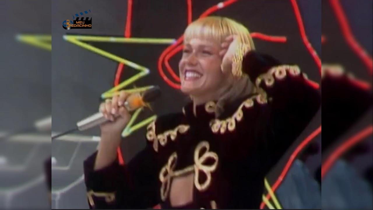 Xuxa em participação no Faustão - Foto: Reprodução