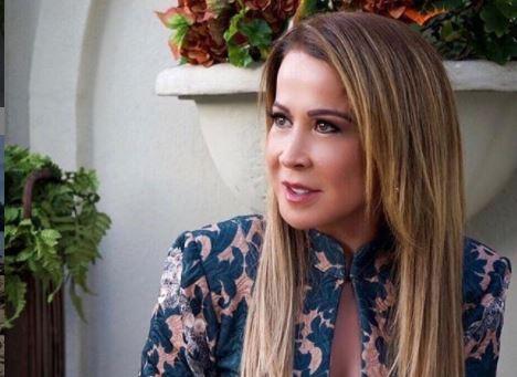 A famosa empresária e ex-mulher do cantor sertanejo Zezé Di Camargo, Zilu Godoi agitou as redes sociais (Foto: Reprodução)