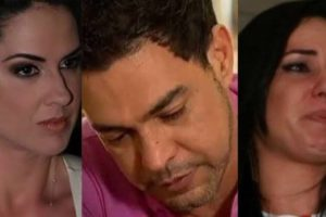 Graciele Lacerda é atacada por Cleo Loyola, ex-de Luciano. Segundo a pastora, a noiva de Zezé Di Camargo renega a própria irmã (Montagem: TV Foco)