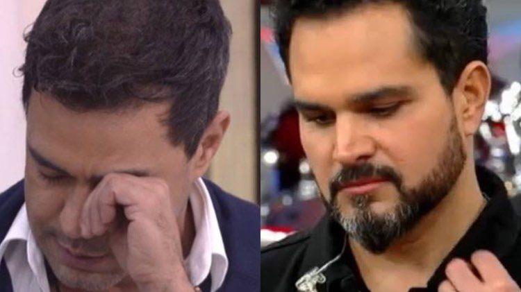Zezé Di Camargo e Luciano tiveram uma briga séria em 2011 e a separação foi anunciada (Montagem: TV Foco)