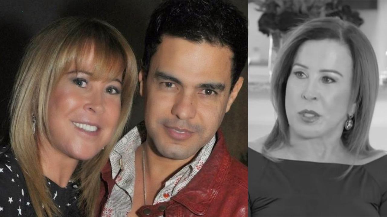 Zilu foi casada com Zezé Di Camargo (Foto: Reprodução/Record)