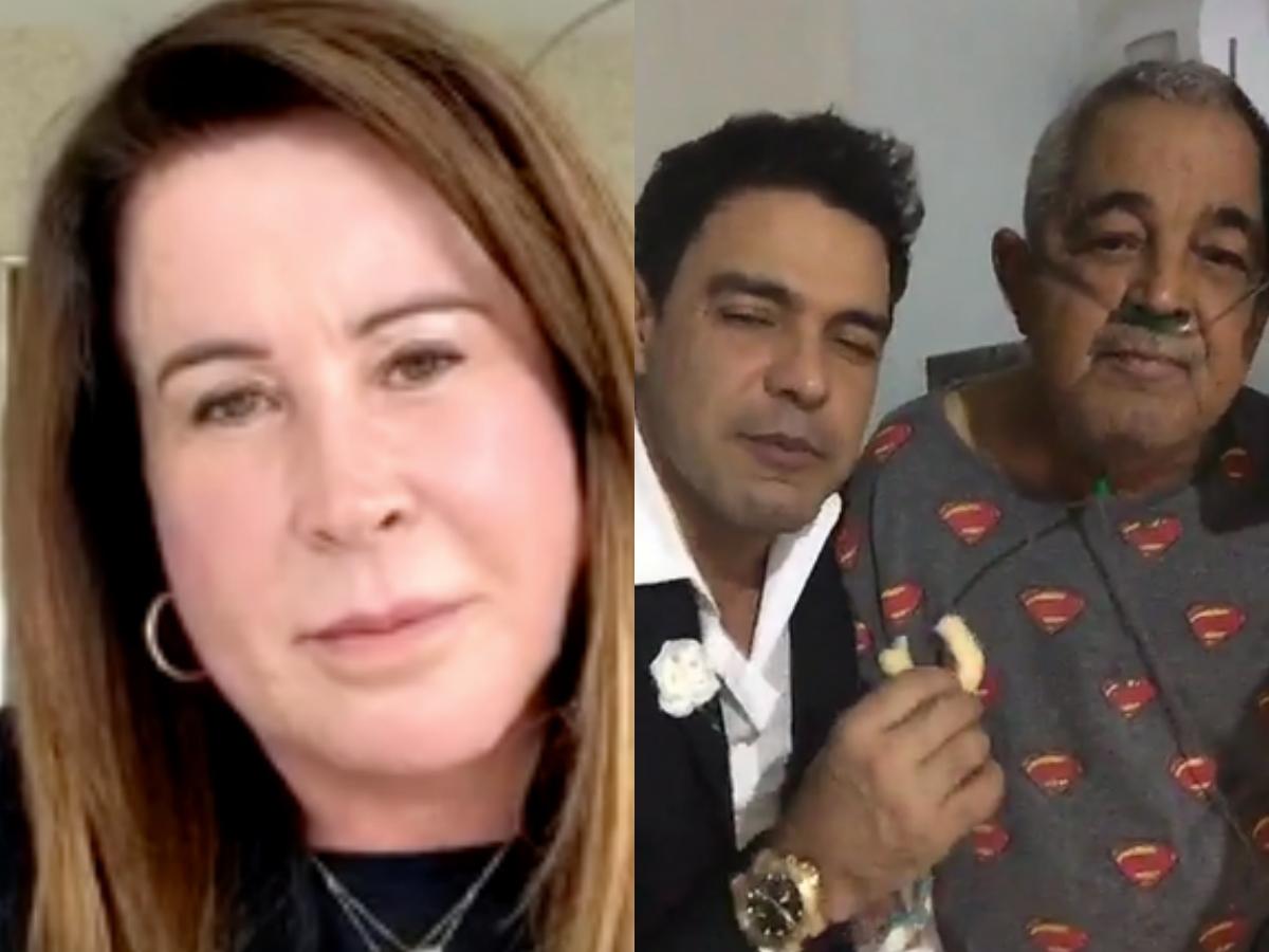 Cleo Loyola expõe verdade envolvendo relação de Zilu Godoi com a família do famoso cantor sertanejo e ex-marido, Zezé Di Camargo (Foto: Reprodução/Montagem TV Foco)