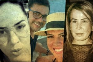 Zilu, Zezé e Graciele Lacerta têm passado polêmico (Foto: Reprodução)