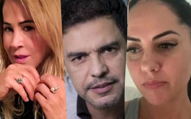 Graciele Lacerda desmente ex de Luciano e fala sobre guerra com Zilu (Foto: Reprodução)