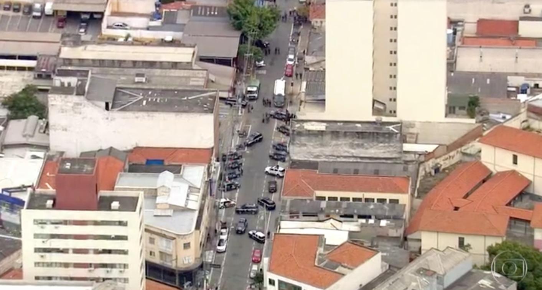 Boletim do SP2 entregou assalto em São Paulo (Foto: Reprodução/TV Globo)