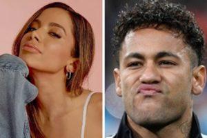 Anitta ficou com o jogador Neymar no carnaval 2019 (Foto: Montagem/TV Foco)