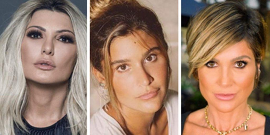 Antonia Fontenelle expôs relação com a ex-enteada, Giulia Costa (Foto: Montagem/TV Foco)