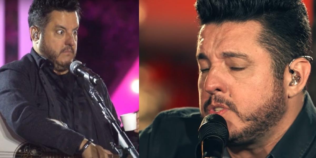 Bruno, da dupla com Marrone (Foto: Reprodução/YouTube)