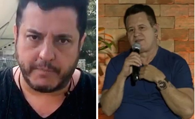 Bruno e Marrone fazem dupla sertaneja juntos (Foto: Montagem/TV Foco)