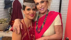Ana Maria Braga e a filha (Foto montagem)