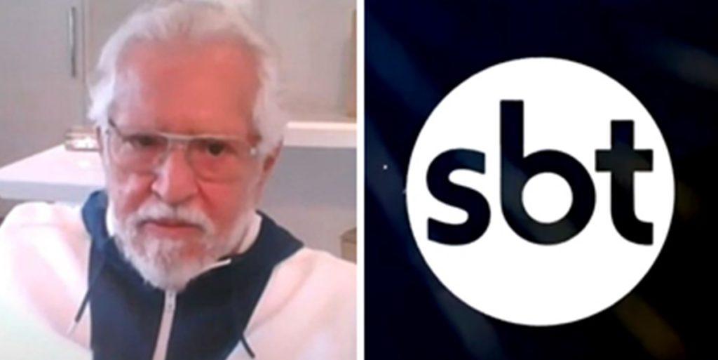 Carlos Alberto teve futuro no SBT definido após reunião (Foto: Montagem)