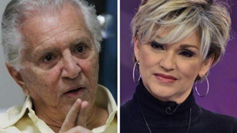 Carlos Alberto de Nóbrega e Andréa de Nóbrega não têm uma boa relação (Foto: Montagem/TV Foco)