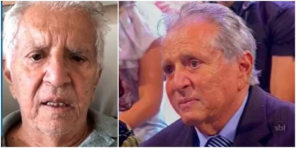 Carlos Alberto de Nóbrega está afastado dos estúdios do SBT (Reprodução)