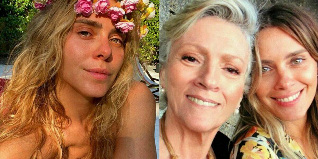 Carolina Dieckmann homenageia a mãe (Foto: Reprodução)