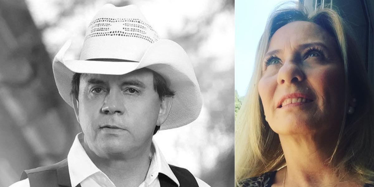 Chitãozinho, da dupla com Xororó, foi casado com Adenair Lima (Foto: Reprodução/Instagram)
