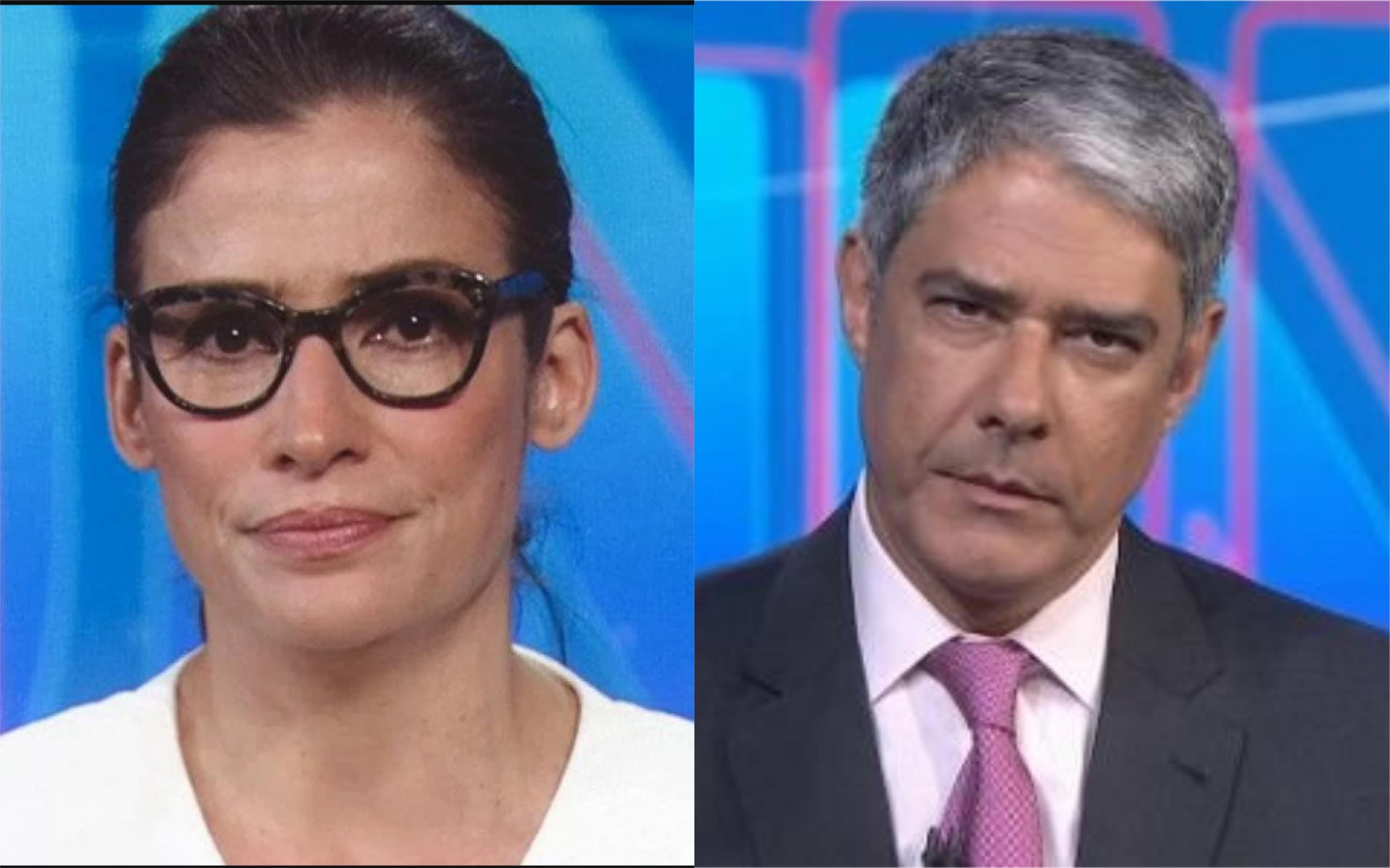Renata Vasconcellos e William Bonner (Foto: Divulgação)