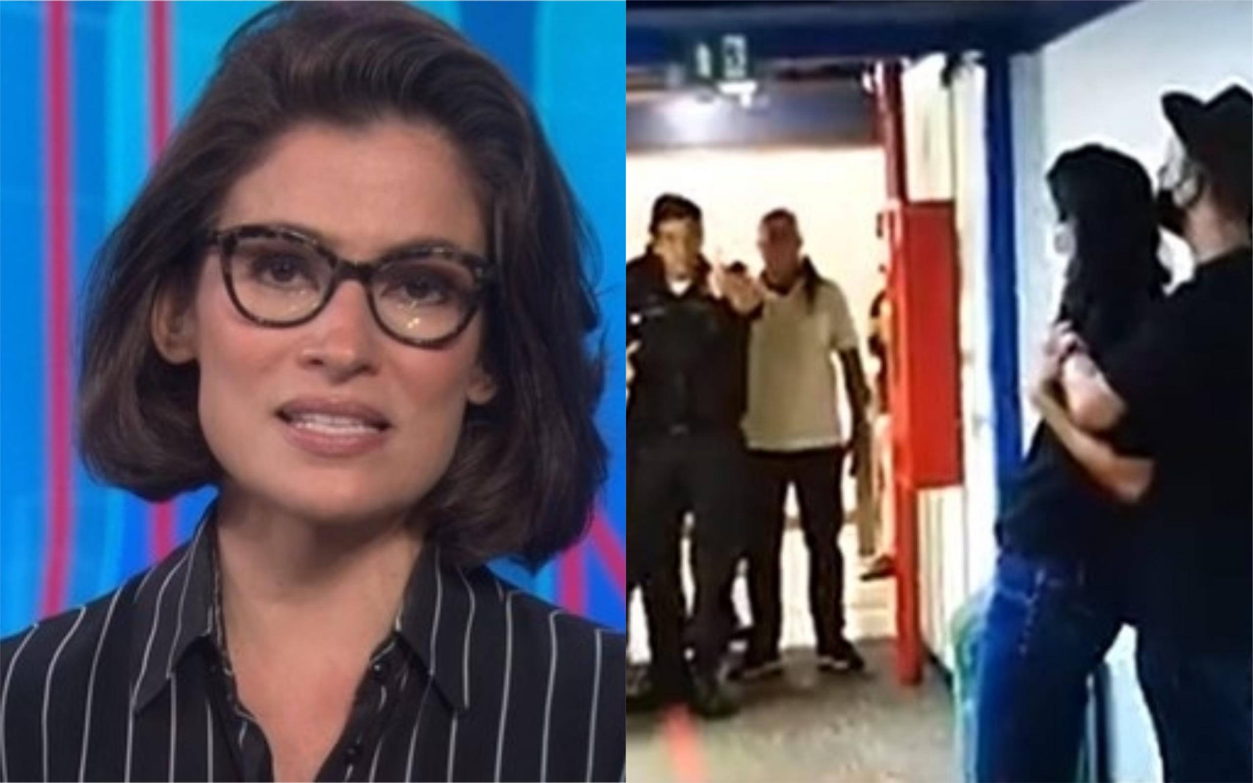 Renata Vasconcellos passou por sufoco na Globo (Foto: Divulgação)