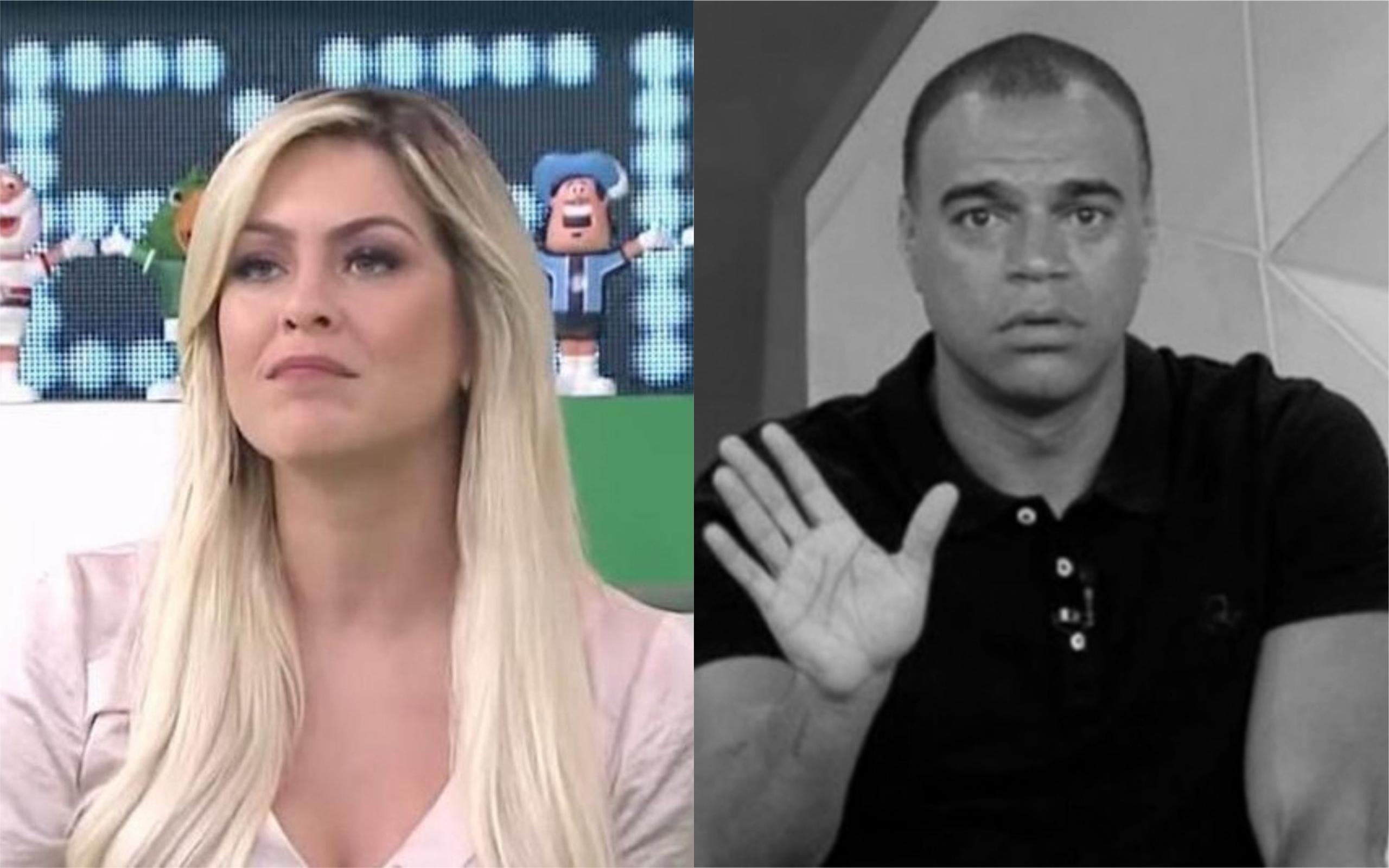 Renata Fan e Denilson (Foto: Divulgação)