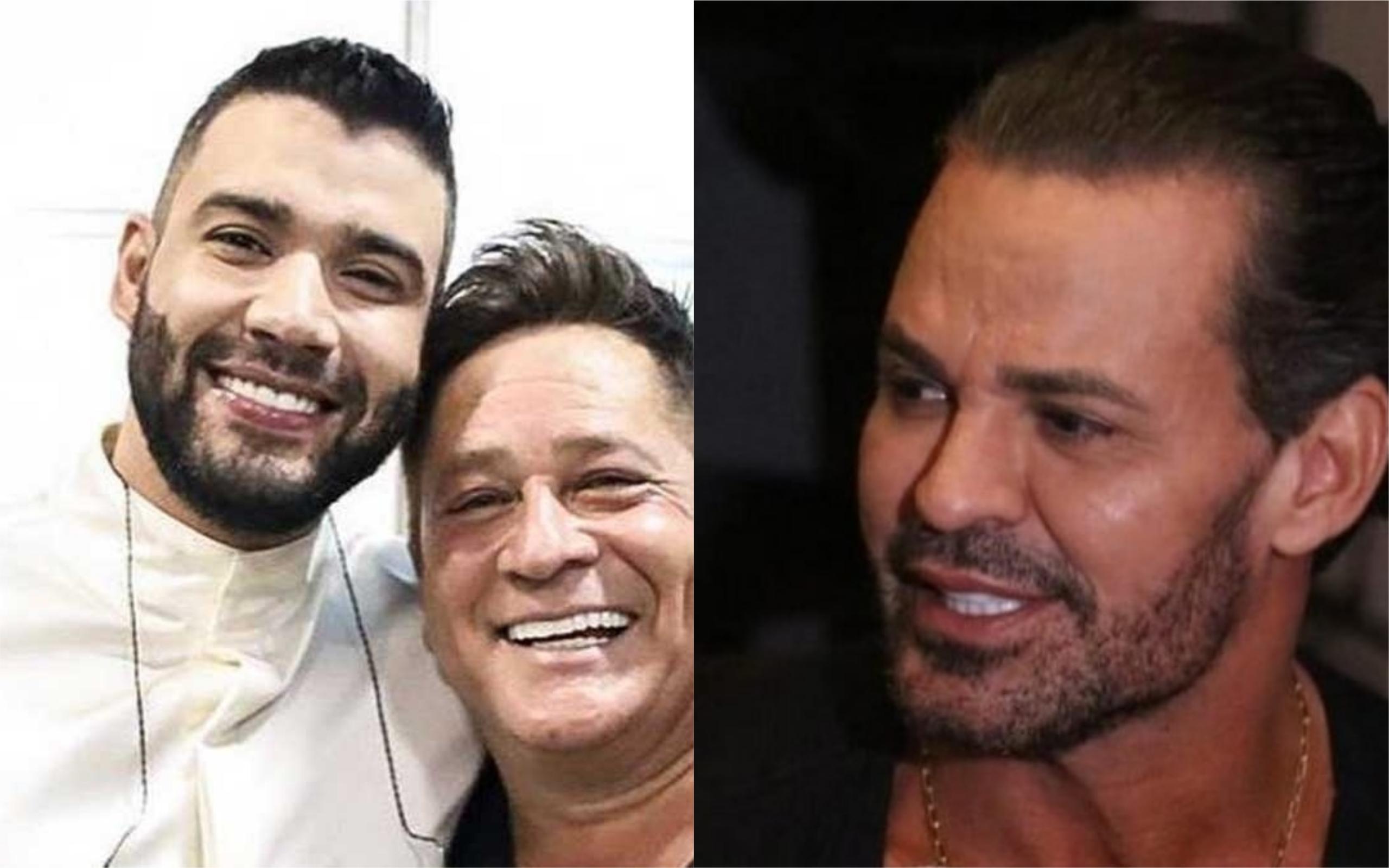 Leonardo e Gusttavo Lima anunciaram live e fãs de Eduardo Costa não gostaram (Foto: Divulgação)