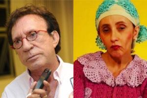 Moacyr Franco e Gorete Milagres, a Filó (Foto: Divulgação)