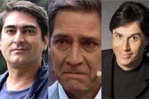 Zeca Camargo, Ernesto Lacombe e Tom Cavalcante (Foto: Divulgação)