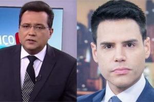 Geraldo Luís e Luiz Bacci são apresentadores da Record (Foto: Divulgação)