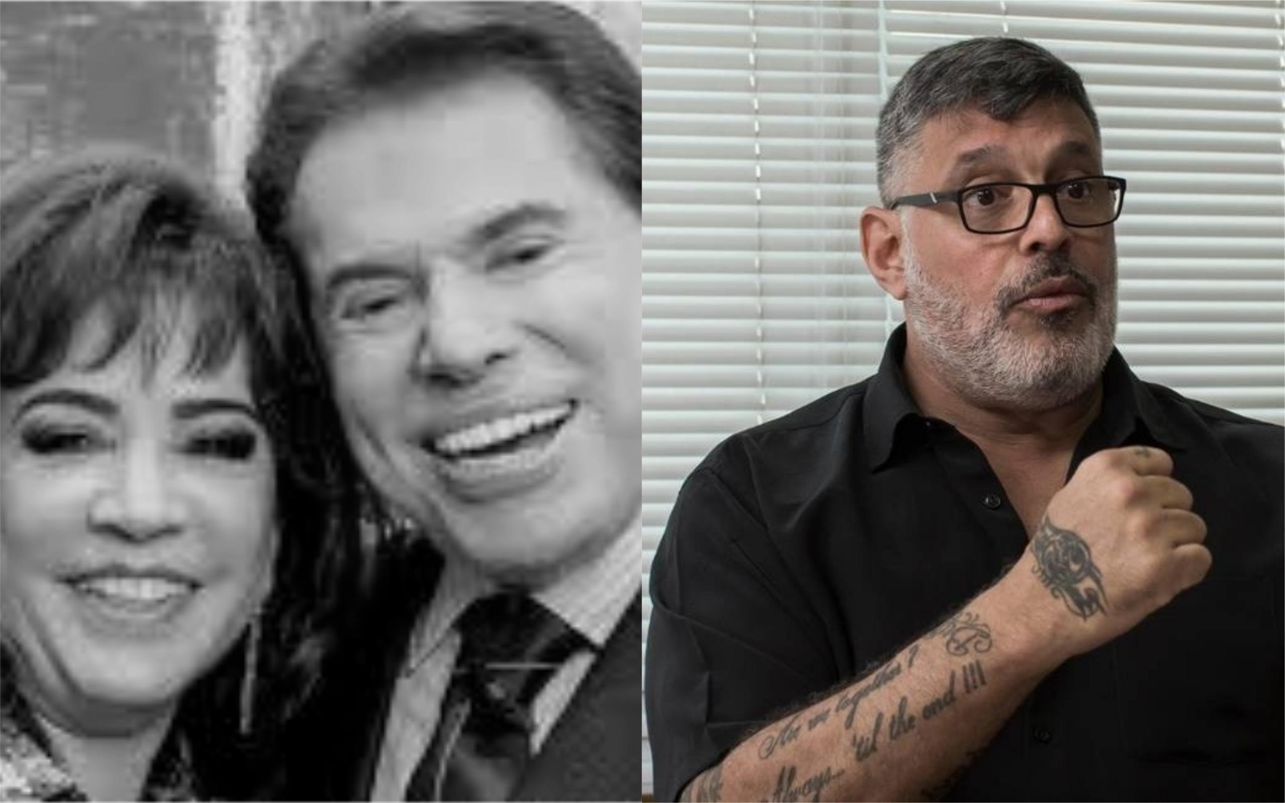 Silvio Santos, íris Abravanel e Alexandre Frota se envolveram em polêmica (Foto: Divulgação)