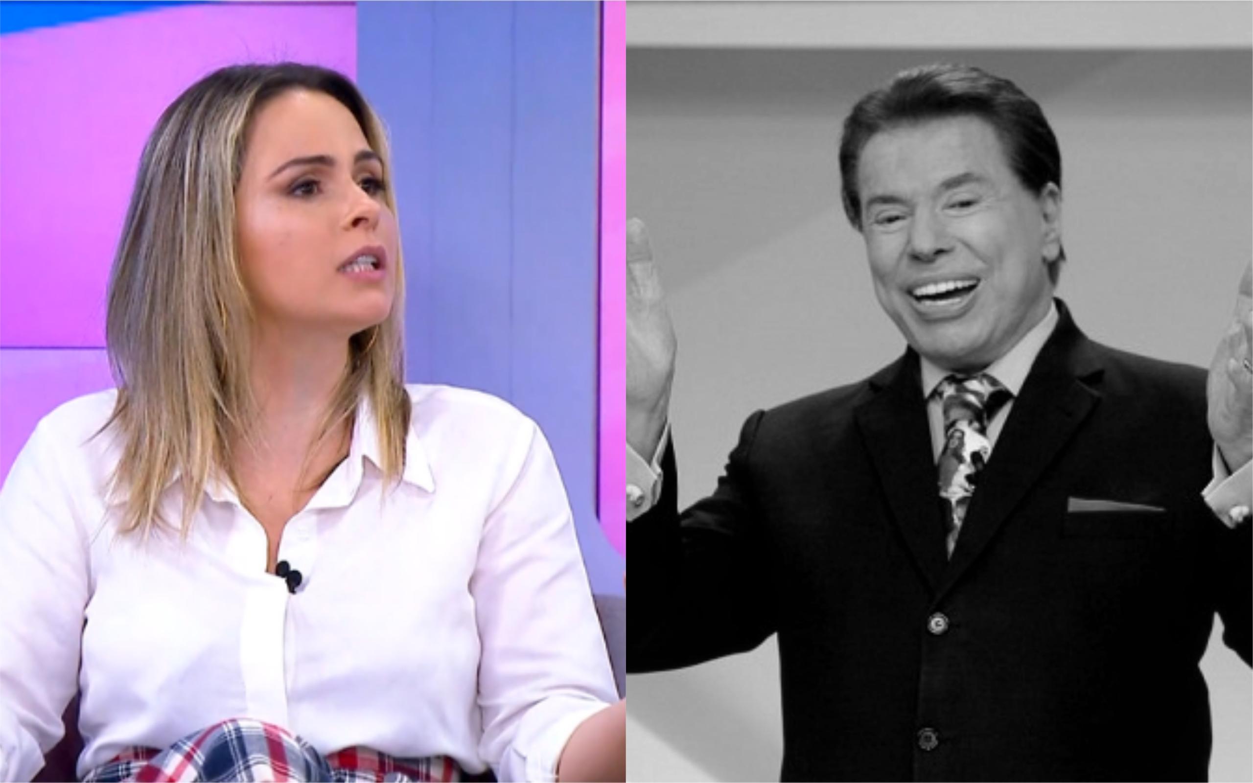 Ana Paula Renault reprovou atitude de Silvio Santos (Foto: Divulgação)