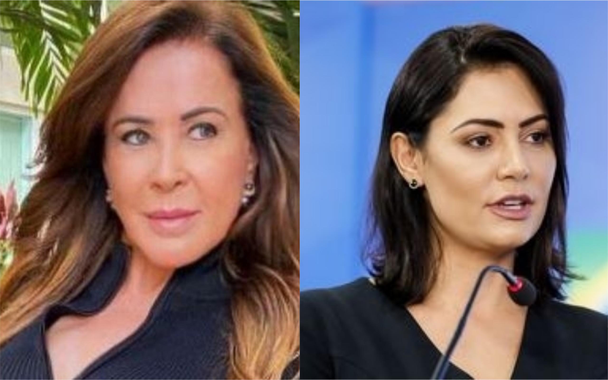 Zilu Godoi e Michelle Bolsonaro (Foto: Divulgação)