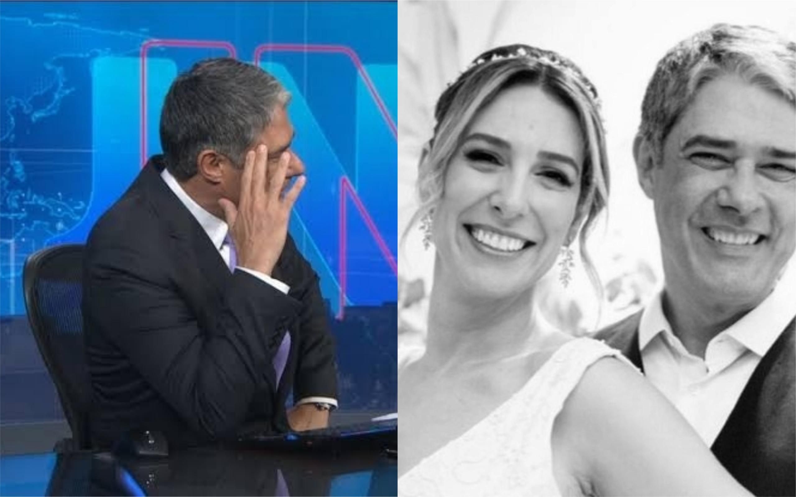 William Bonner é casado com Natasha Dantas (Foto: Divulgação)