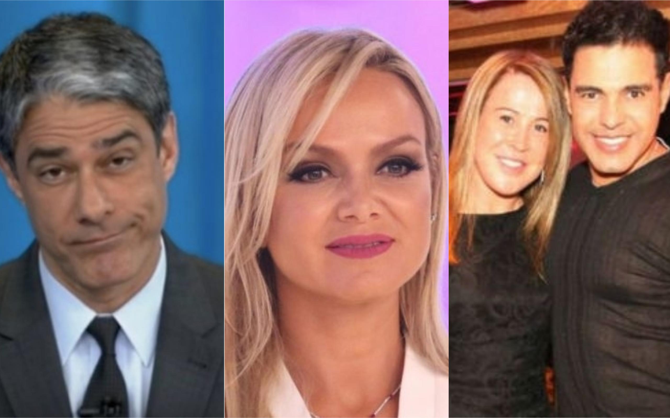 William Bonner, Eliana e Zilu e Zezé di Camargo tiveram previsões bombásticas (Foto: Divulgação)