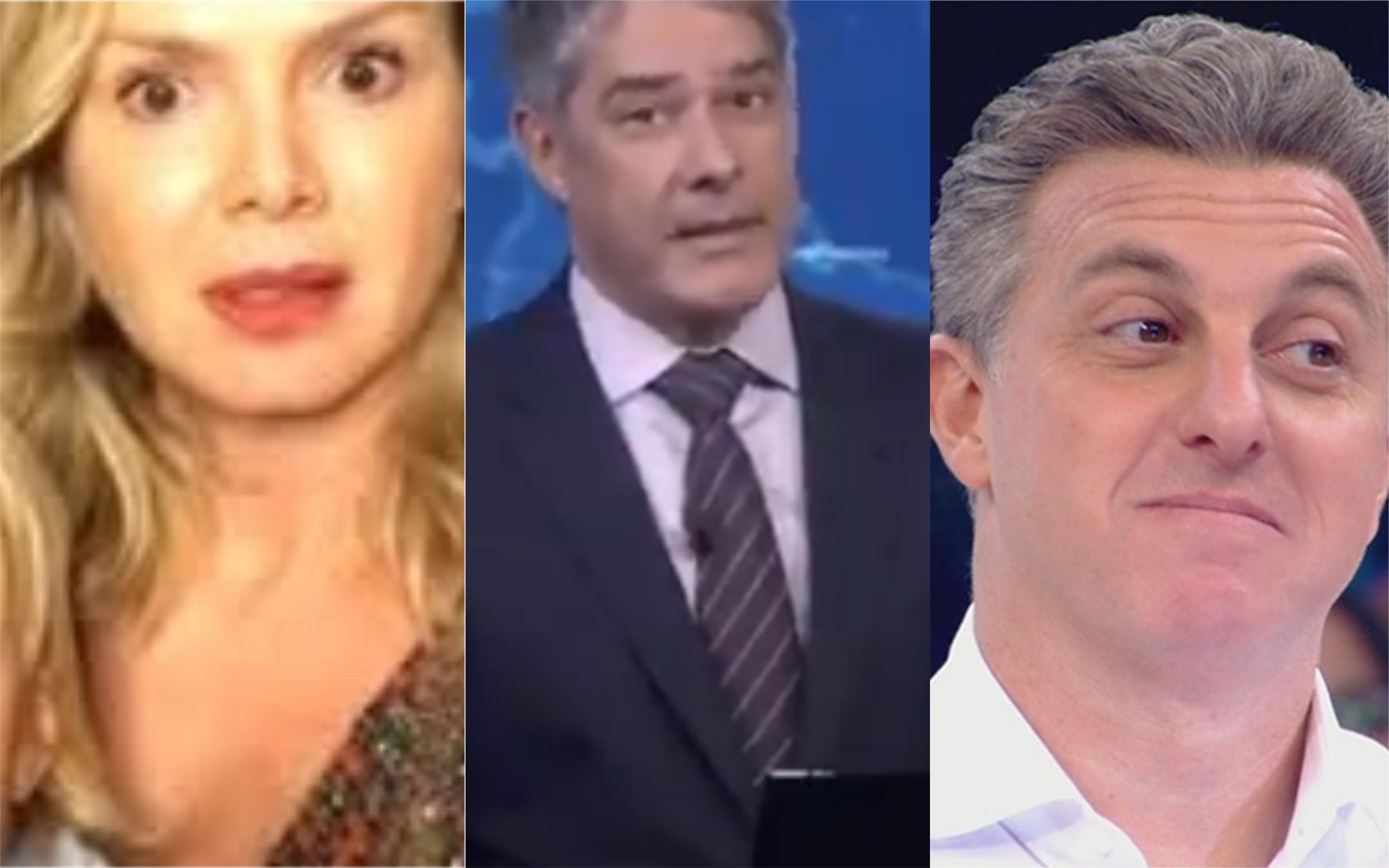 Eliana, William Bonner e Luciano Huc (Foto: Divulgação)