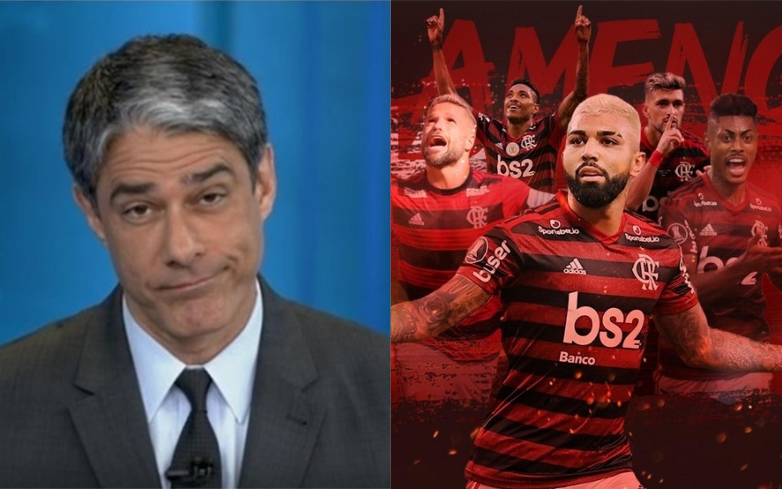 Globo se deu mal em guerra com Flamengo e Bolsonaro (Foto: Divulgação)