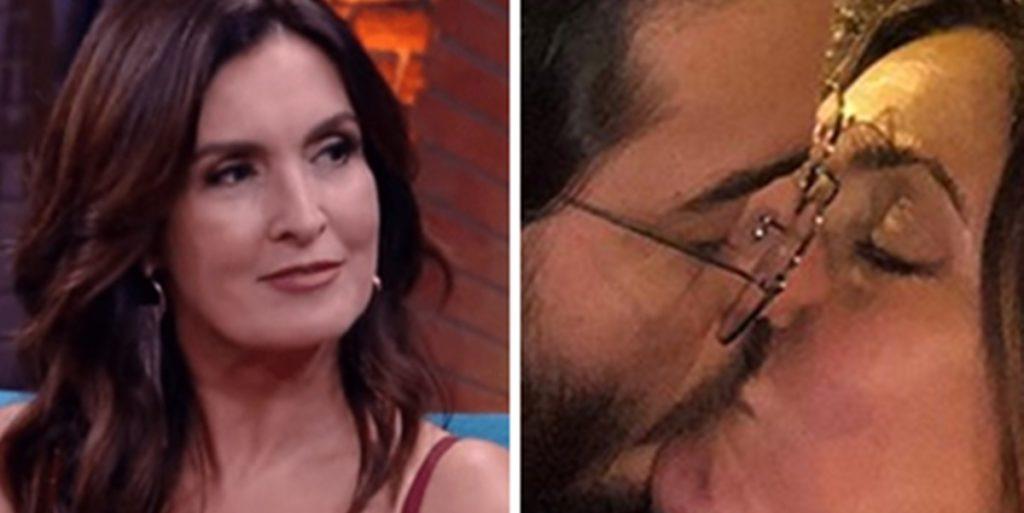 Fátima Bernardes publicou fotos íntimas ao lado do namorado Túlio Gadêlha (Foto: Reprodução)
