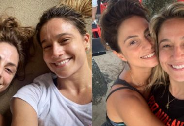Em jogo com Giovanna Ewbank e Bruno Gagliasso, Fernanda Gentil revela sentir ciúmes da esposa (Foto: Reprodução/Instagram)