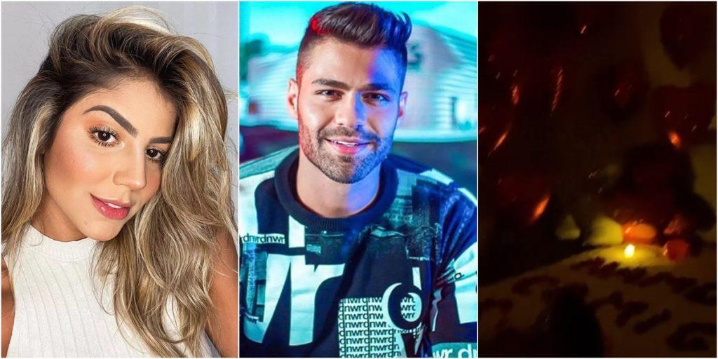 Hariany Almeida foi pedida em namoro pelo DJ Netto. (Foto: Montagem/Reprodução)