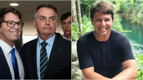 Mário Frias é o novo secretário de cultura do governo Bolsonaro. (Foto: Montagem/Divulgação)