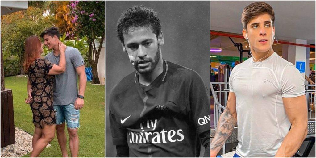 Namoro de Nadine Gonçalves, mãe de Neymar, com Tiago Ramos, segue firme e forte. (Foto: Montagem/Reprodução)