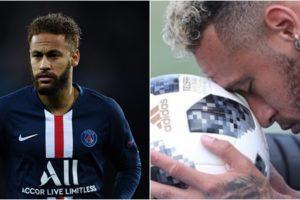 Neymar fez declaração para a bola de futebol. (Foto: Montagem/Divulgação)