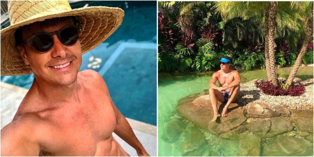 Rodrigo Faro ostenta mansão luxuosa. (Foto: Montagem/Reprodução)